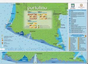 Cartina Nautica Parco Di Portofino